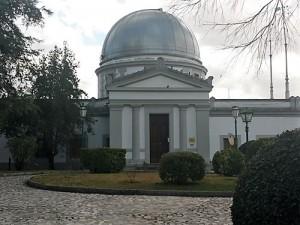 Antiguo observatorio de Cartuja hoy, 2017.