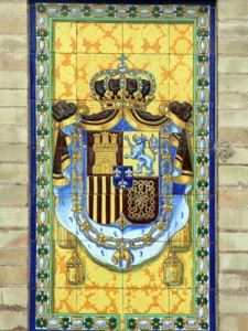 Escudo real de España.