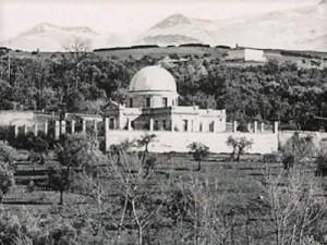 Observatorio astronómico de Cartuja, 1902.